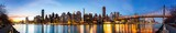 Fototapety Manhattan panorama and Queensboro bridge