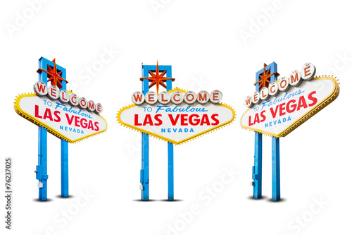 Fototapeta Welcome to Las Vegas Sign