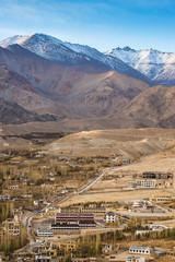 View of Leh city, the capital of Ladakh,India