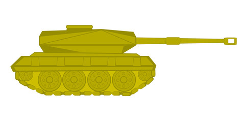 Vector illustration of the tank
