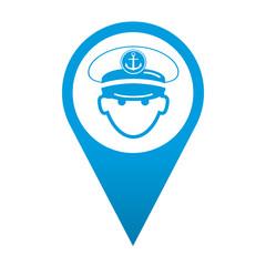 Icono localizacion capitan de barco