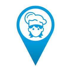 Icono localizacion cocinera