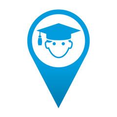 Icono localizacion graduado