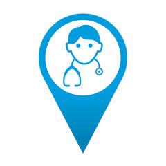Icono localizacion medico