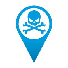 Icono localizacion muerte