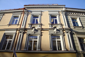 Building in the old town
