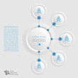 Infographics Vector Background #Knowledge Management