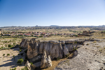 Cappadocia. The picturesque valley in the vicinity of Cavusin