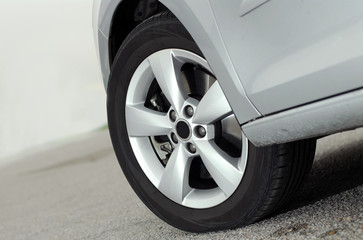 tire and alloy wheel