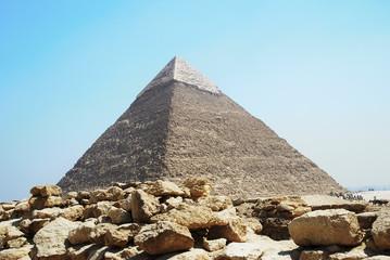 Chefren Pyramid in Giza