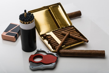 Large and Small Cigars