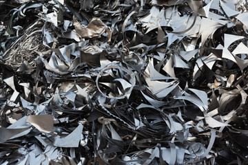 metal recycling background