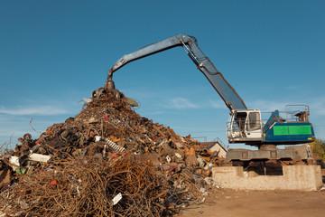 scrap metal junkyard