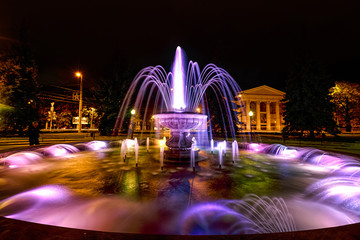 Fountain near the dramatic theater