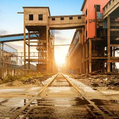 Steelworks rail transport