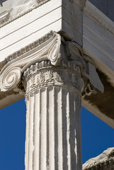The Ionic capital