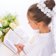 Leinwanddruck Bild - First Holy Communion