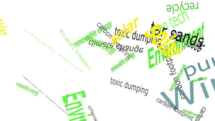 Falling Environmental Words