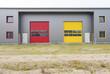 modern new warehouse