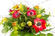 canvas print picture - Strauß mit Frühlingsblumen