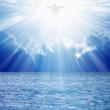 Obrazy na płótnie, fototapety, zdjęcia, fotoobrazy drukowane : Christ in skies