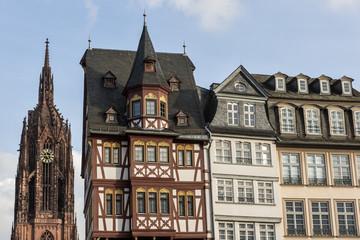 Frankfurter Dom mit Ostzeile