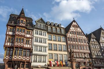 Ostzeile auf dem Römerberg in Frankfurt am Main