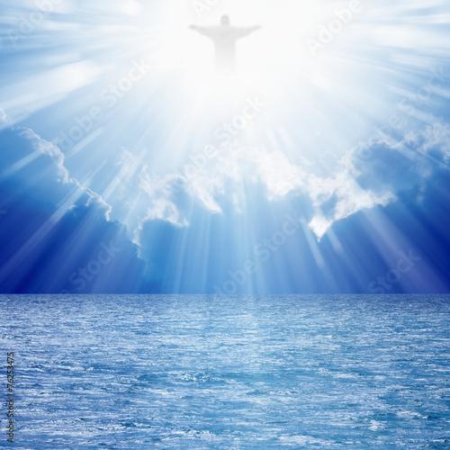 Zdjęcia na płótnie, fototapety, obrazy : Christ in skies