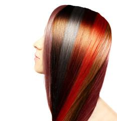 Natural colored hair