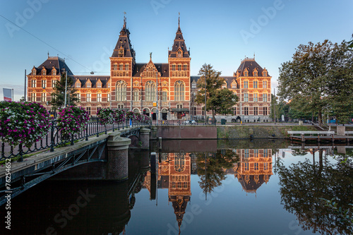 Leinwanddruck Bild Museum Amsterdam