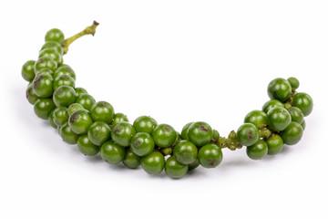 Grüne Pfefferkörner