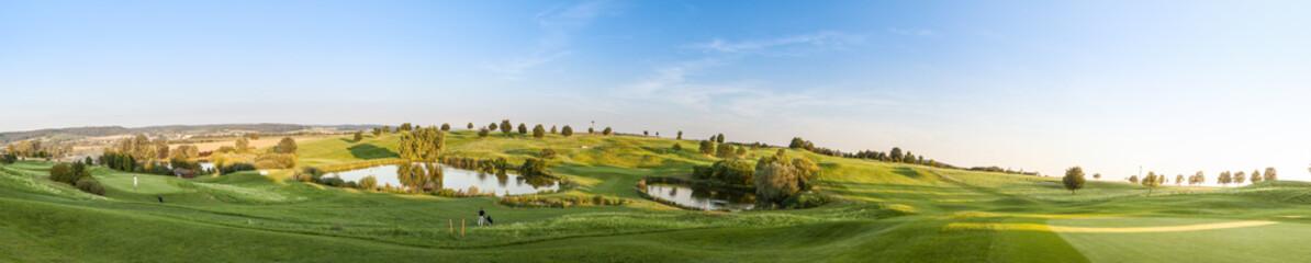 Panorama Golfplatz Sommer