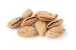 Heap of almonds