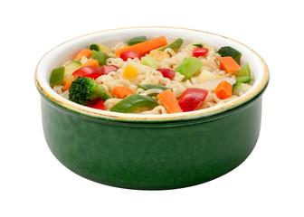 Ramen Noodles with Stir Fried Vegetables