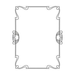 rectangular decorative frame