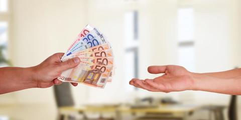 Lohn Auszahlung