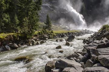 Waterfall in Austria
