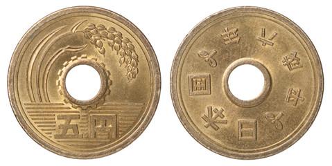 Japanese coin yen