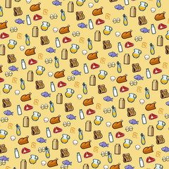 pattern foodstuffs