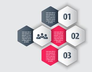 Elements for business design, infographics, presentation