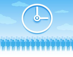 Time management background