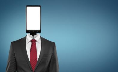Smartphone / Anzug