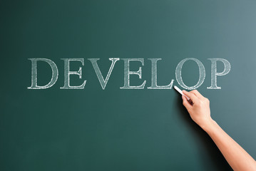 writing develop on blackboard