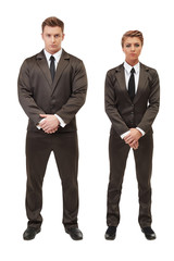 Young entrepreneurs posing with folded arms