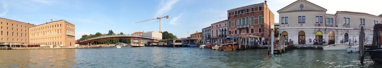 Panorama von Venedig im Sommer