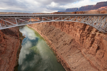 Navajo Bridge over Colorado river, Southwest USA