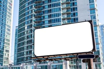 Werbetafel Hausfront Modern