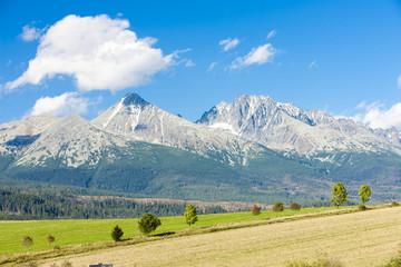 Krivan Mountain and Western part of High Tatras, Slovakia