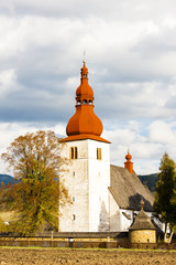 fortified church in Liptovske Matiasovce, Slovakia