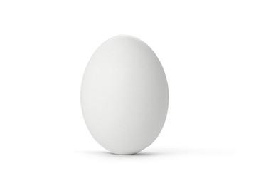 Osterei - Ei / weiß isoliert auf Hintergrund